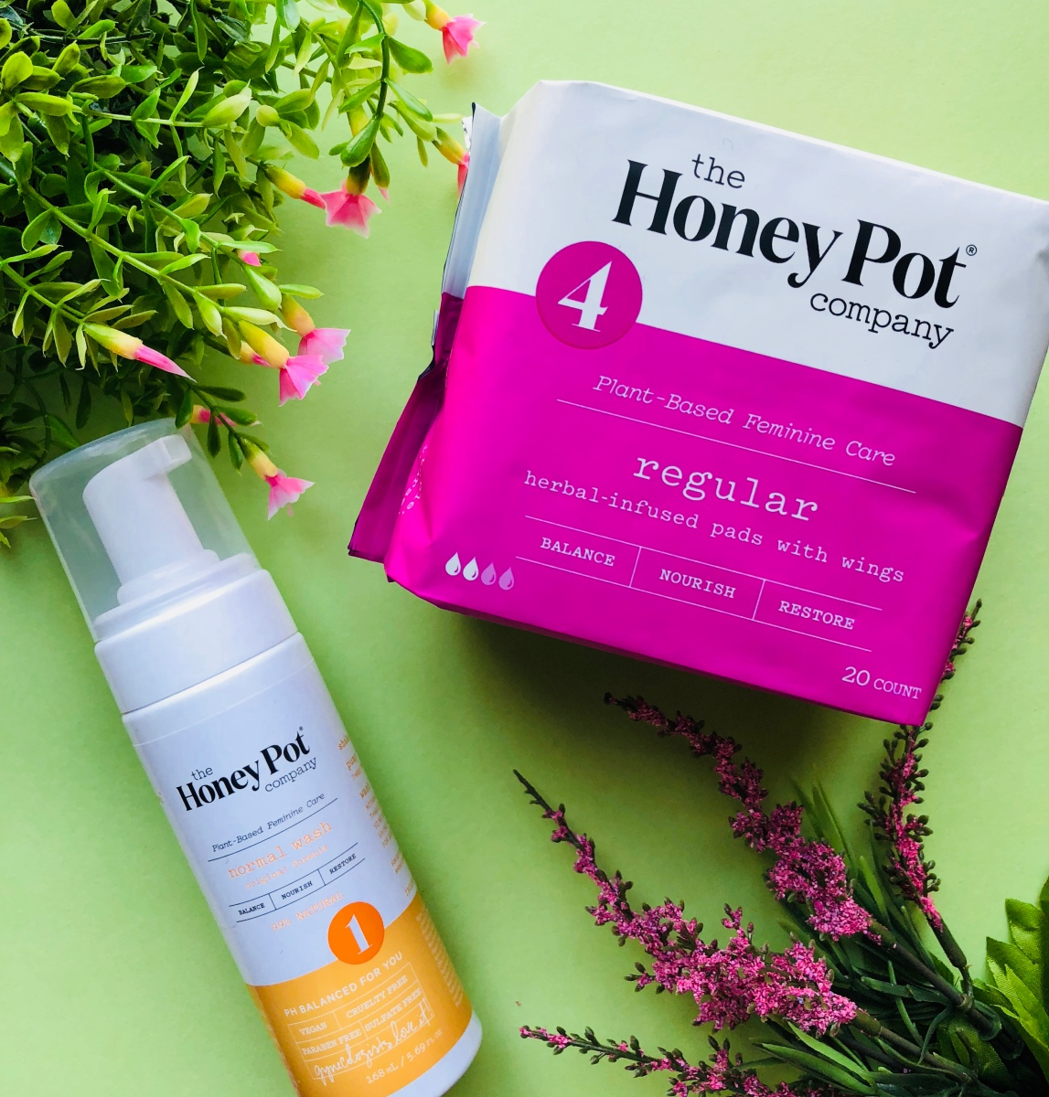 Green Beauty Review |  The Honey Pot Company